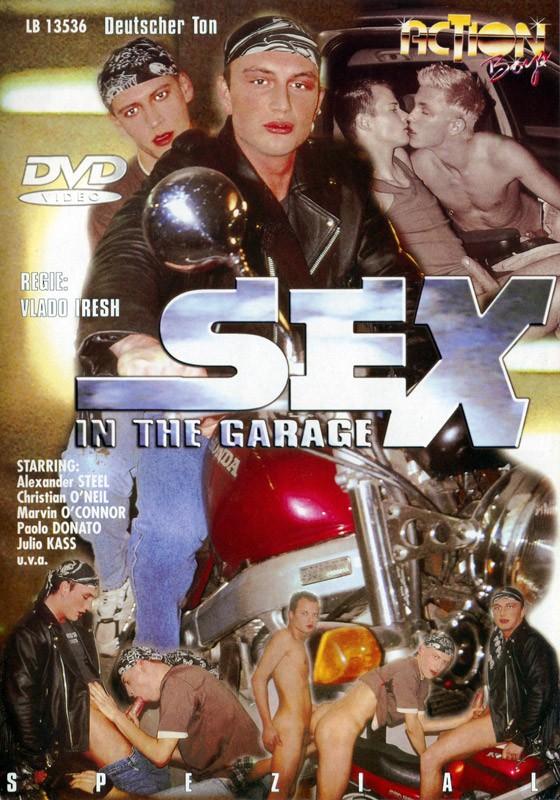 Sex In The Garage DVD - Front