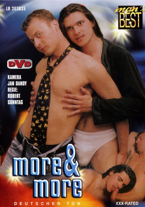 More & More (Mans Best) DVD - Front