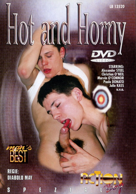Hot & Horny DVD - Front