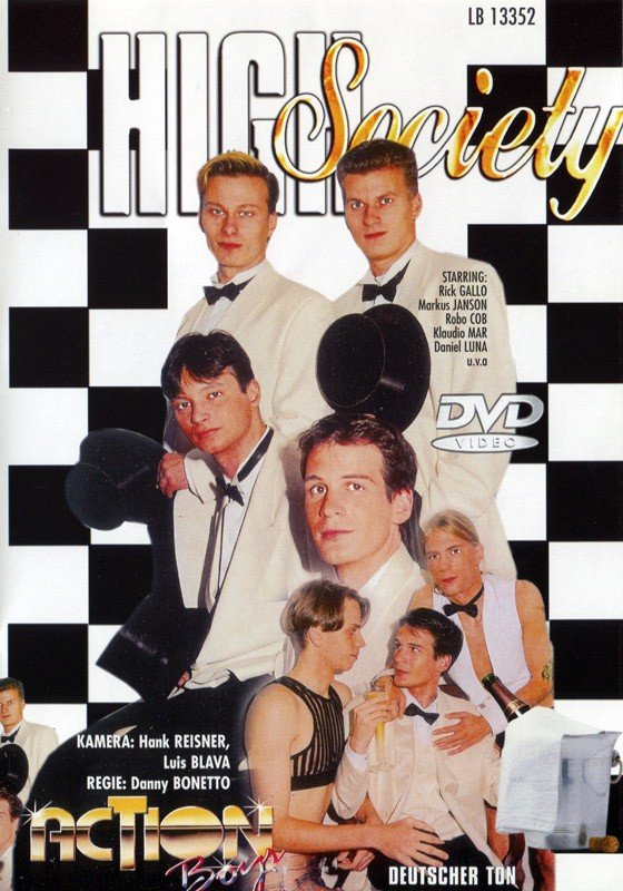 High Society DVD - Front