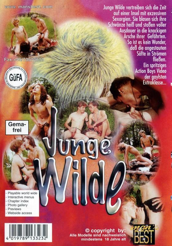 Junge Wilde DVD - Back