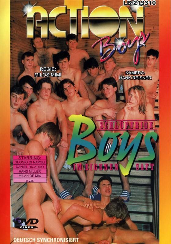 Schluepfrige Boys Im Eigenen Saft DVD - Front