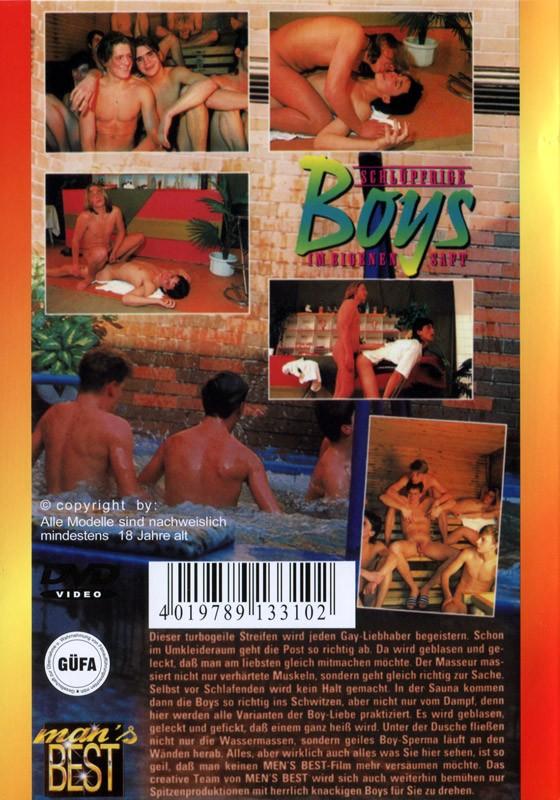 Schluepfrige Boys Im Eigenen Saft DVD - Back