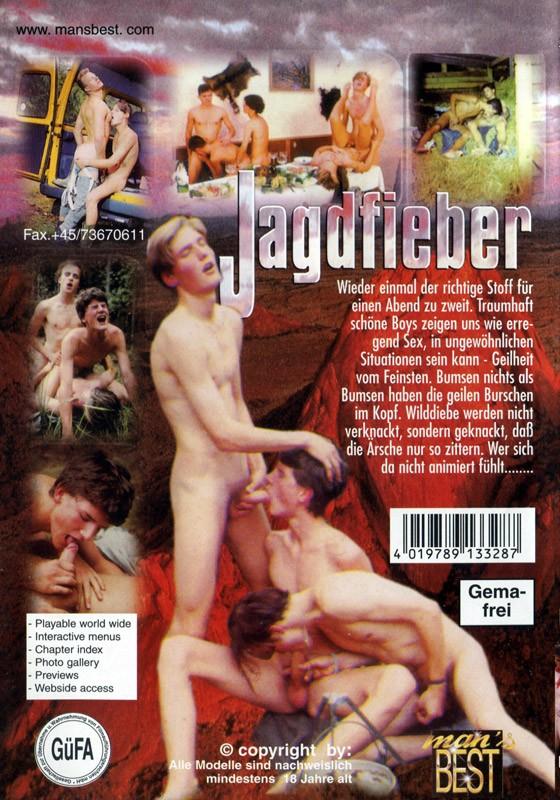 Jagdfieber DVD - Back