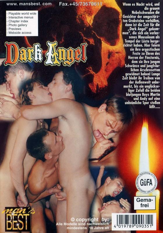 Dark Angel DVD - Back