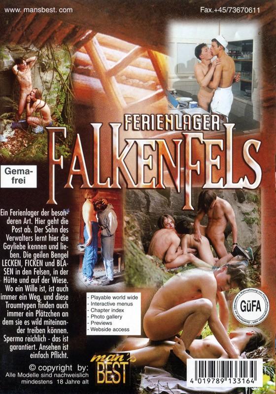 Ferienlager Falkenfels DVD - Back