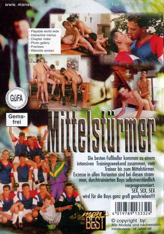 Der Mittelstürmer DVD - Back
