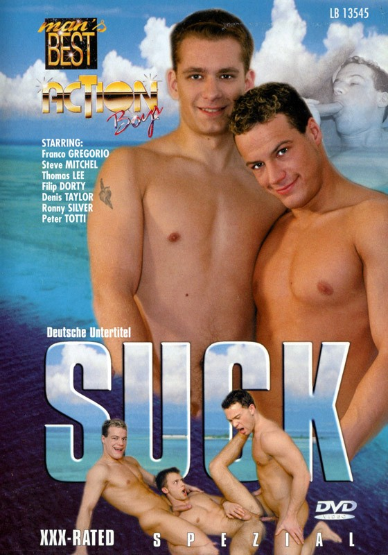 Suck DVD - Front