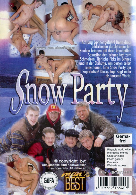 Snow Party DVD - Back