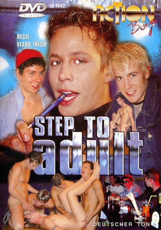 Step To Adult DVD - Front