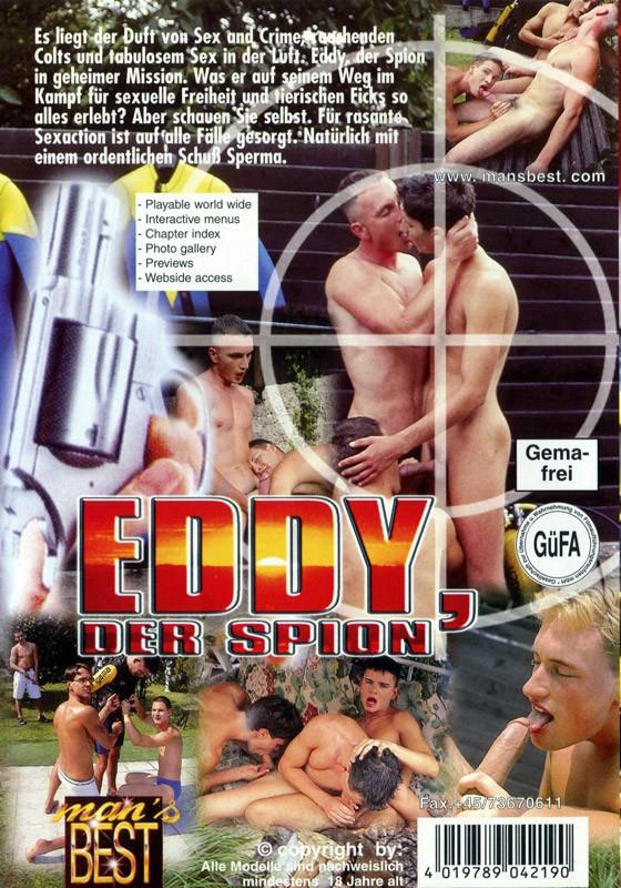 Eddy Der Spion DVD - Back