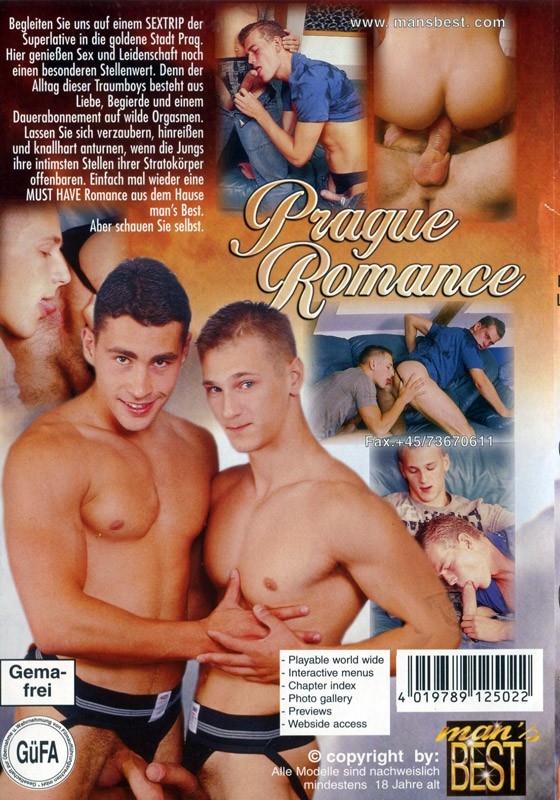 Prague Romance DVD - Back