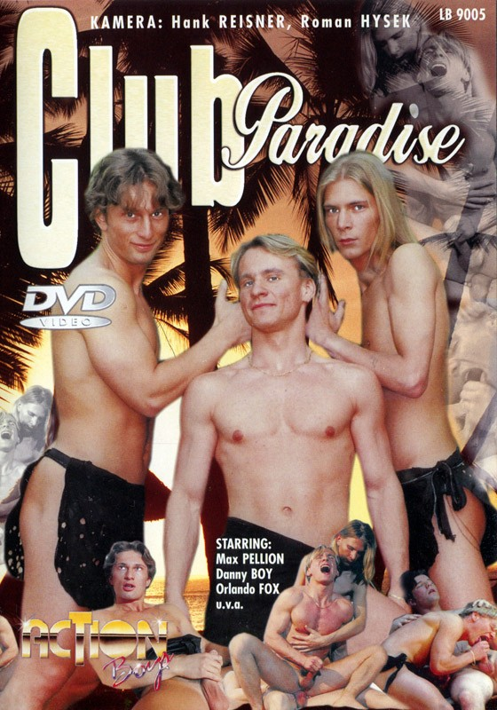 Club Paradise DVD - Front
