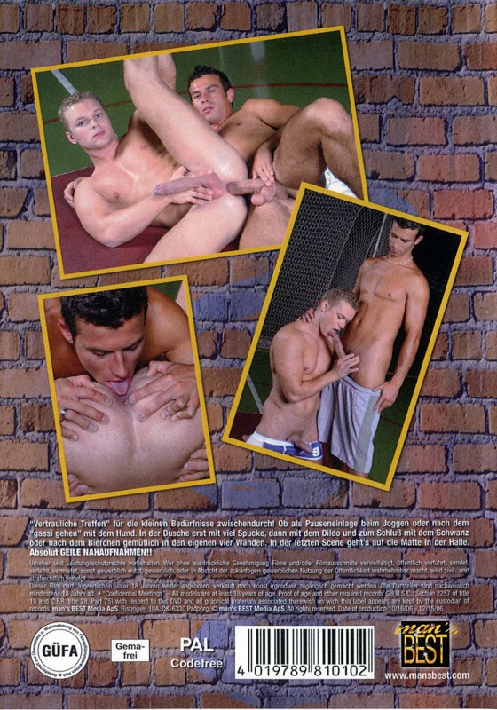 Confidential Meetings 1 DVD - Back