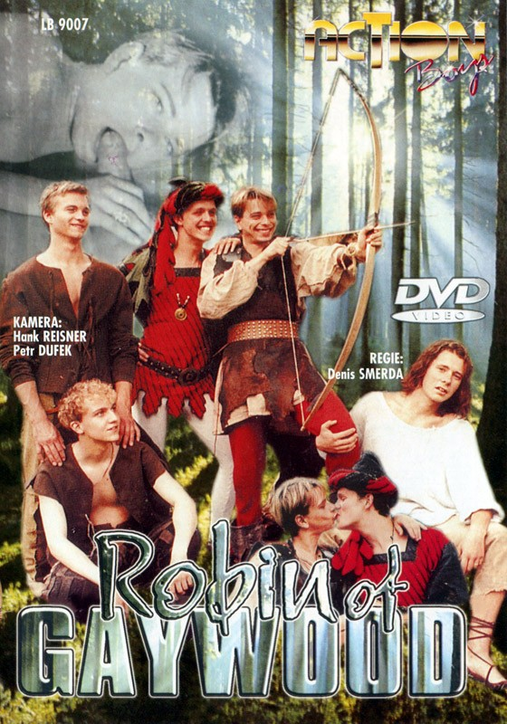 Robin Of Gaywood DVD - Front