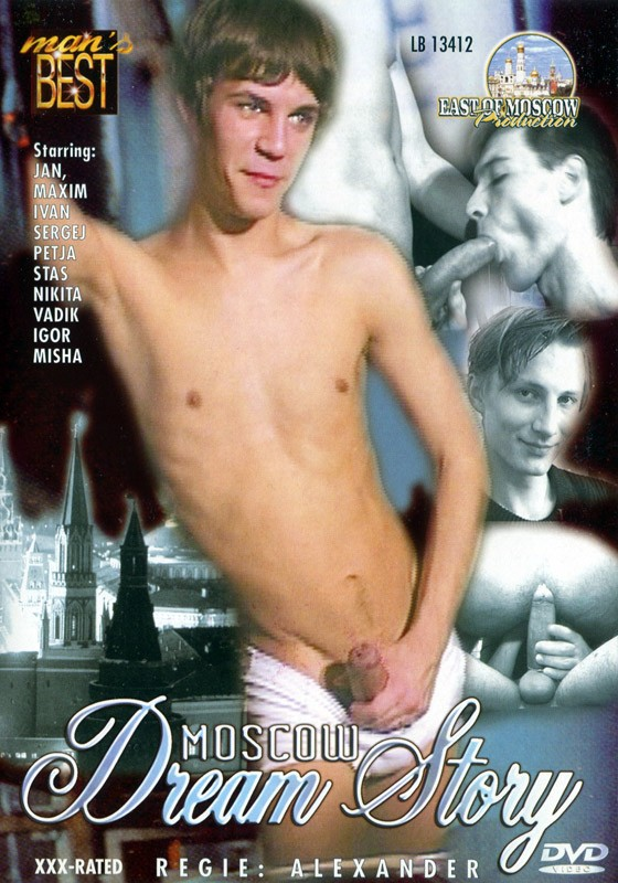 Moscow Dream Story DVD - Front
