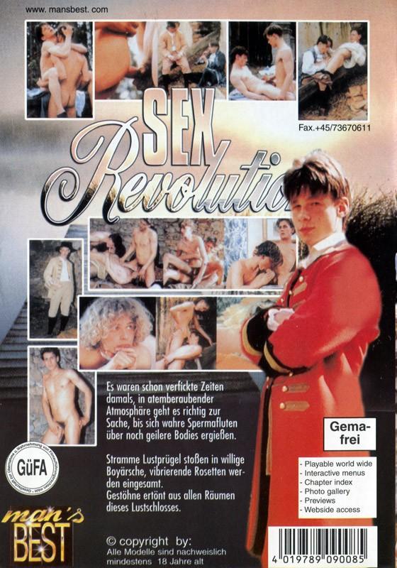 Sex Revolution DVD - Back