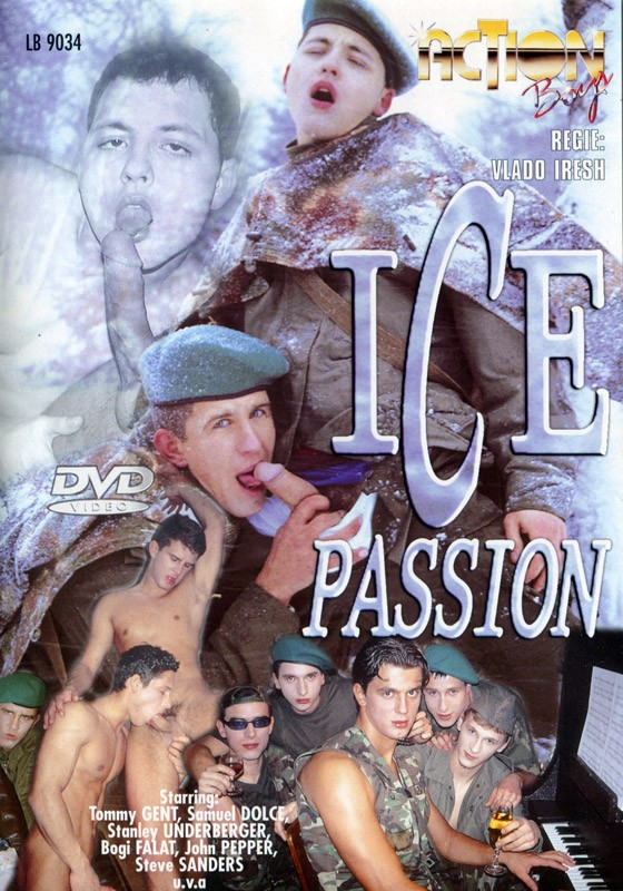 Ice Passion DVD - Front