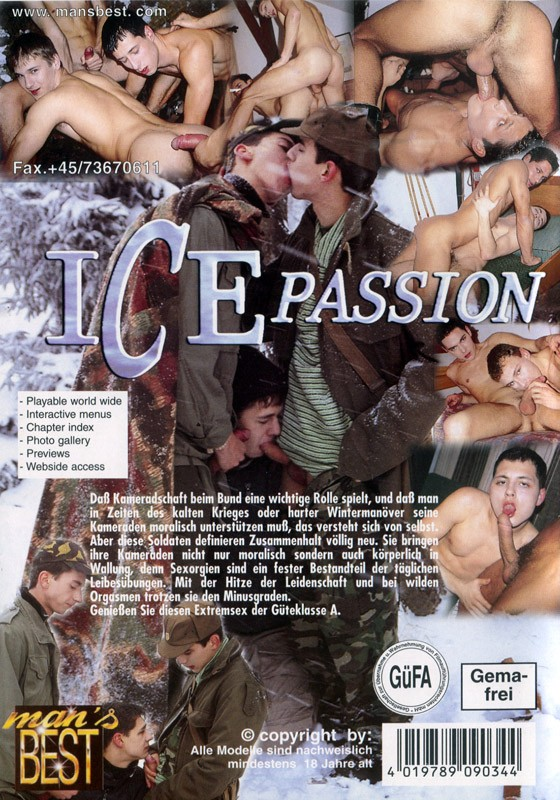 Ice Passion DVD - Back