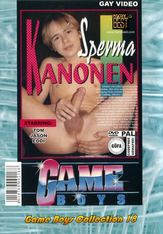 Game Boys Collection 18 - Smarte Boys + Sperma Kanonen DVD - Back