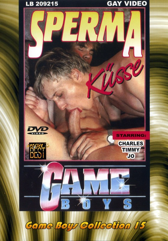 Game Boys Collection 15 - Sperma Küsse + Waldspiele DVD - Front
