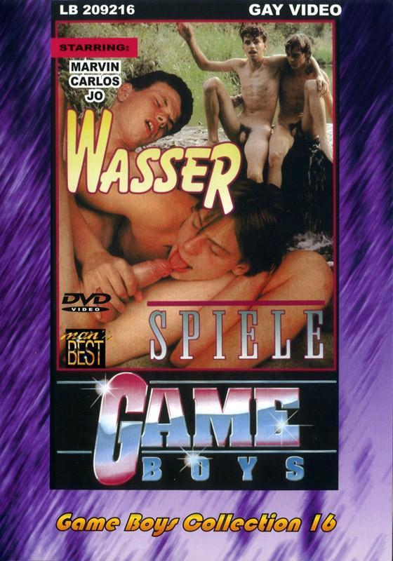 Game Boys Collection 16 - Wasserspiele + Puppenspieler DVD - Front
