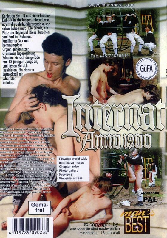 Internat Anno 1900 Teil 1 DVD - Back
