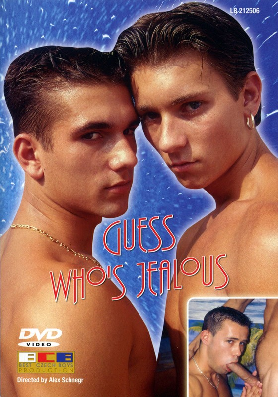 Guess Who's Jealous DVD - Front