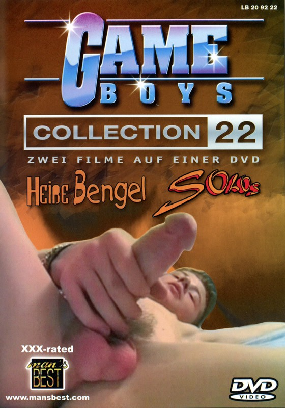 Game Boys Collection 22 - Heisse Bengel + Solo's DVD - Front