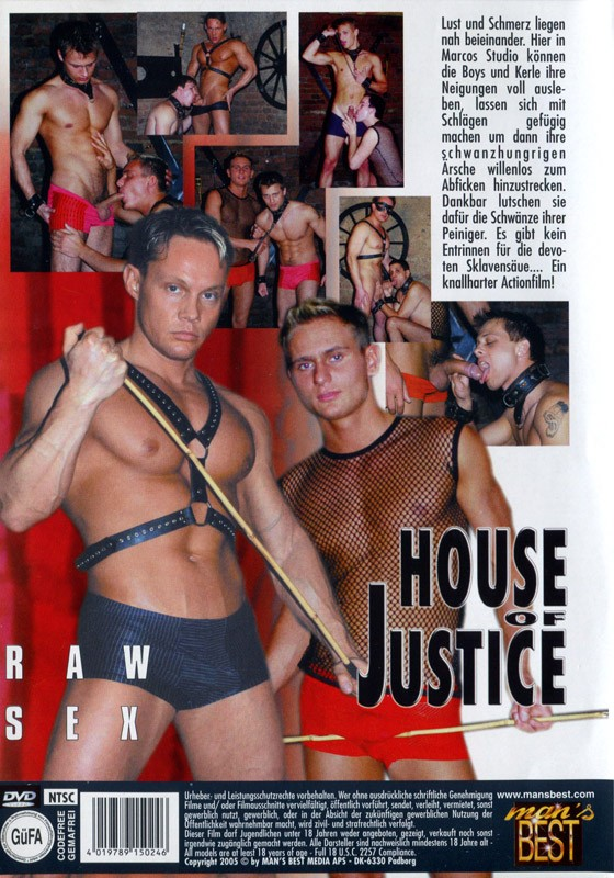 House Of Justice 3 DVD - Back