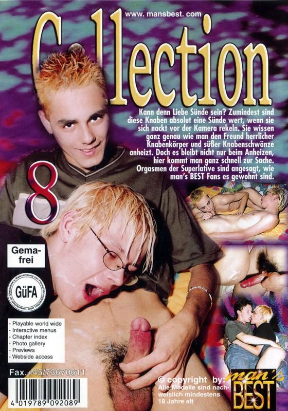 Game Boys Collection 8 - Nackte Tatsachen + Little Arrow DVD - Back
