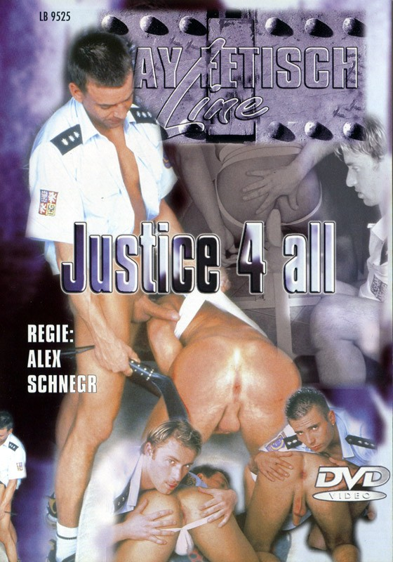 Justice 4 All DVD - Front