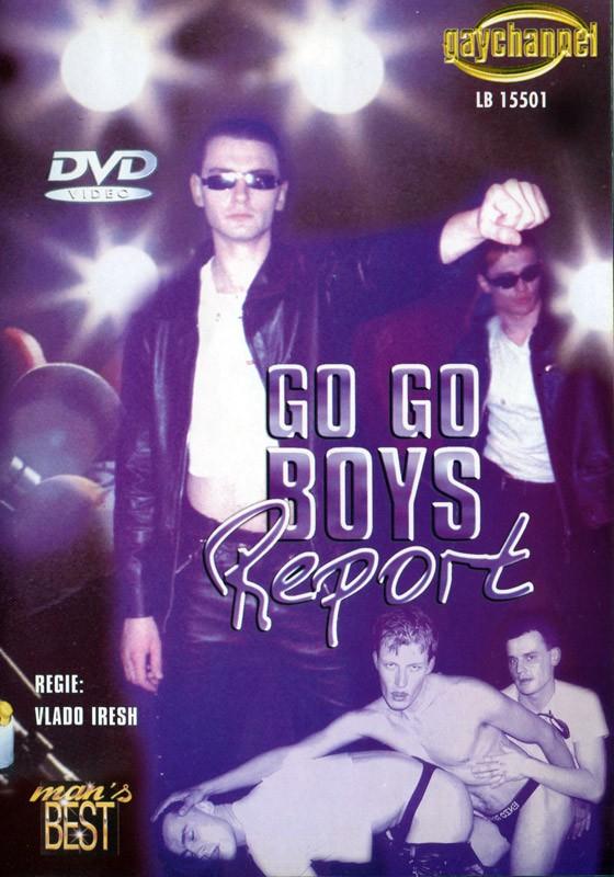 Go Go Boys Report DVD - Front