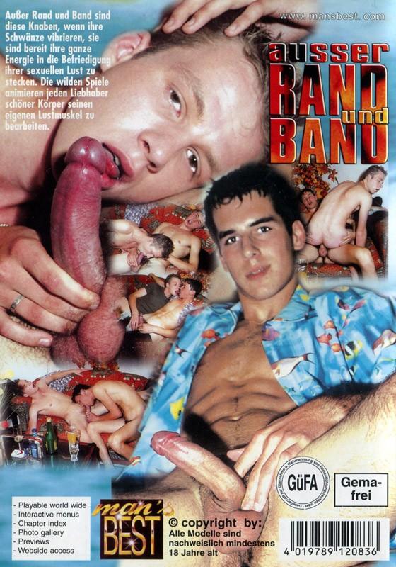 Ausser Rand Und Band DVD - Back