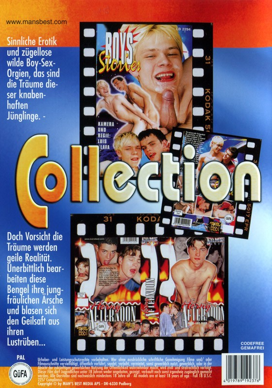 Game Boys Collection 37 - Boys Stories + Horny Afternoon DVD - Back