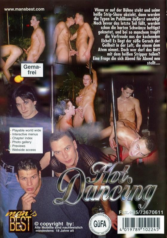 Hot Dancing DVD - Back