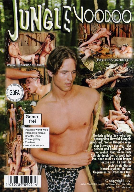 Jungle Voodoo DVD - Back