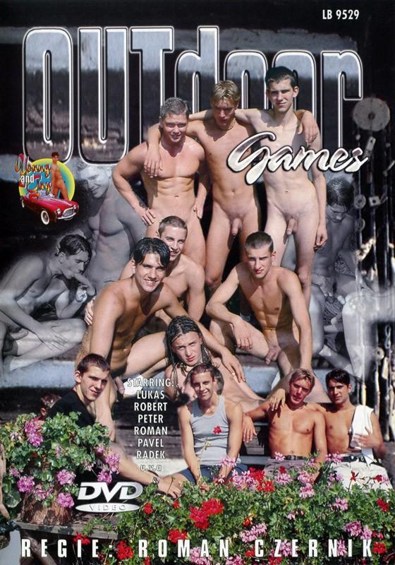 Outdoor Games DVD - Front