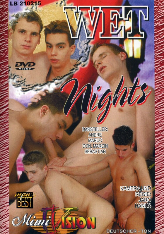 Wet Nights DVD - Front