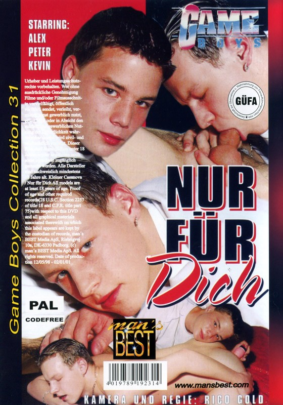 Game Boys Collection 31 - Kleiner Casanova + Nur Für Dich DVD - Back