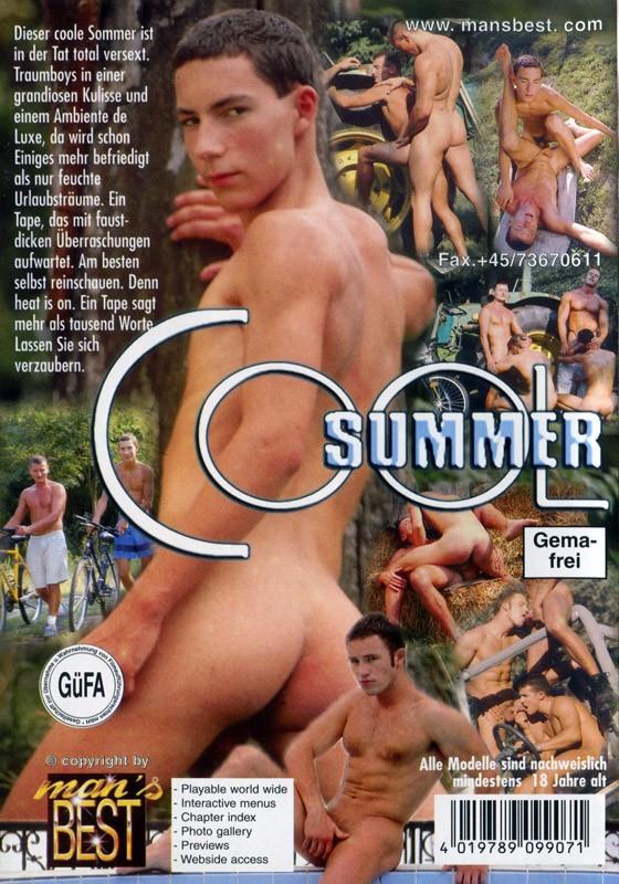 Cool Summer DVD - Back