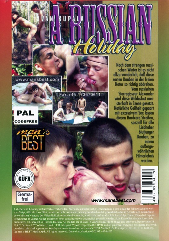 A Russian Holiday DVD - Back