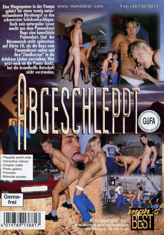 Abgeschleppt DVD - Back