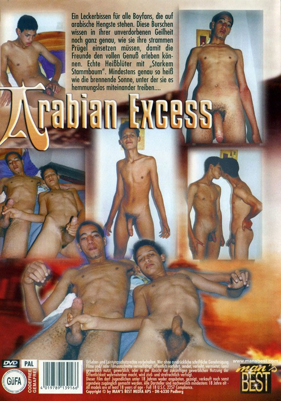 Arabian Excess DVD - Back
