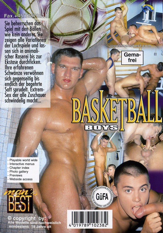 Basketball Boys DVD - Back