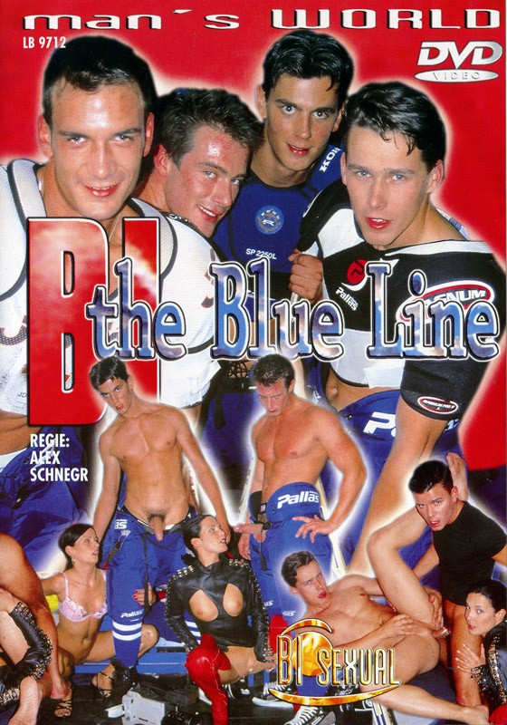 Bi The Blue Line DVD - Front