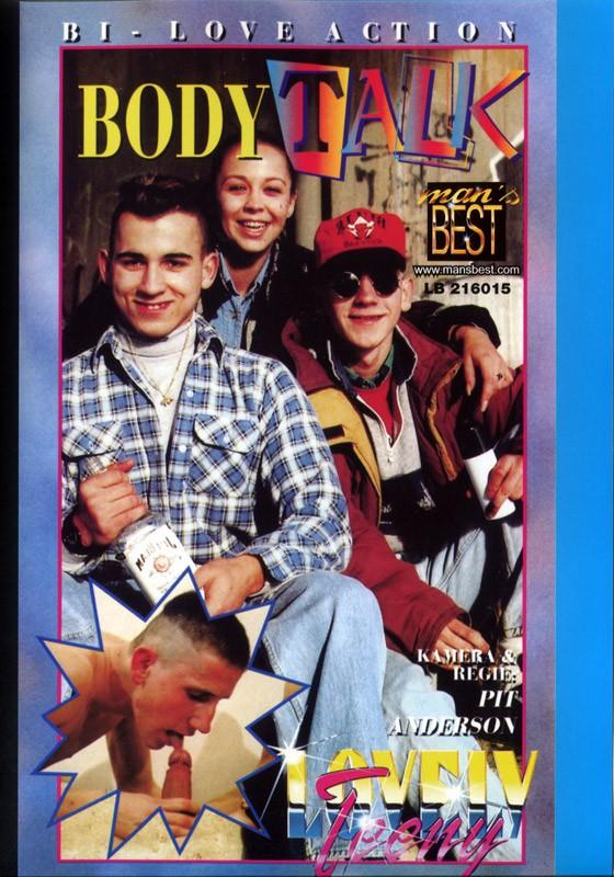 Body Talk DVD - Front