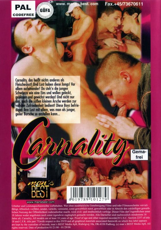Carnality DVD - Back