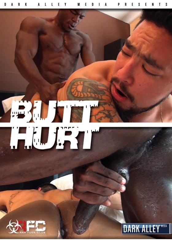 Butt Hurt DVD - Front