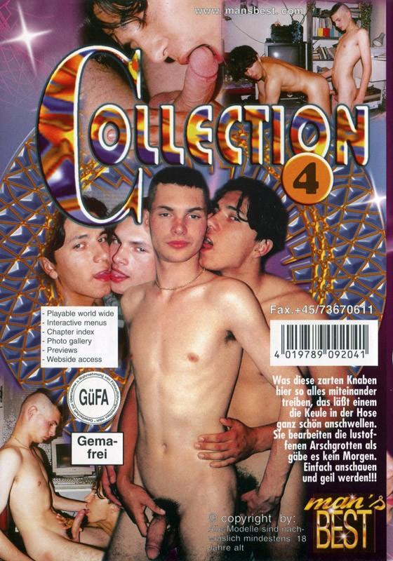 Game Boys Collection 4 - Boys & Sex + Homeboys DVD - Back